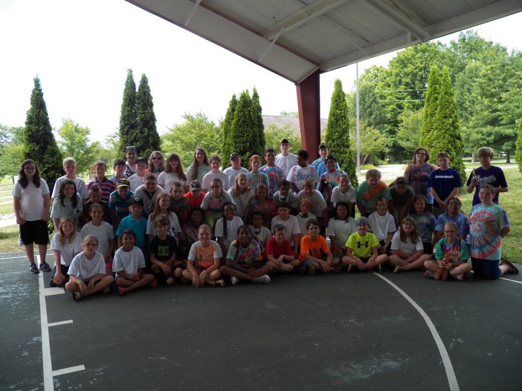 Junior 4H Camp 2014 Group Photo